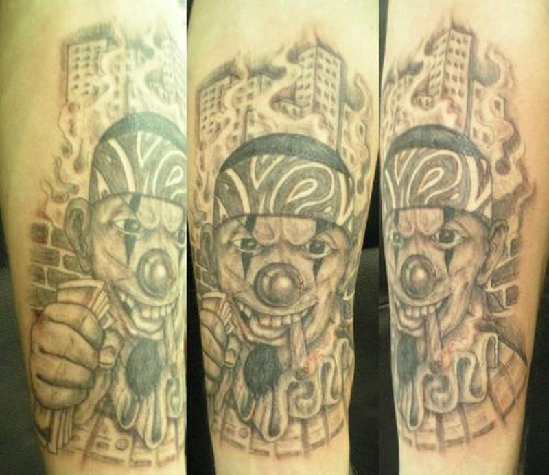 Tattoo clown43