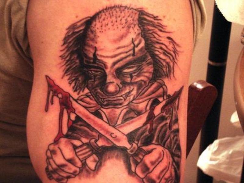 Tattoo clown47