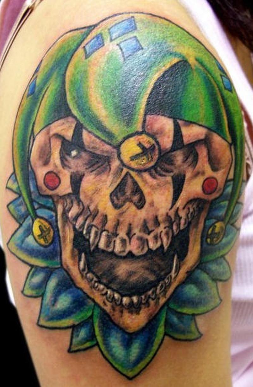 Tattoo clown54