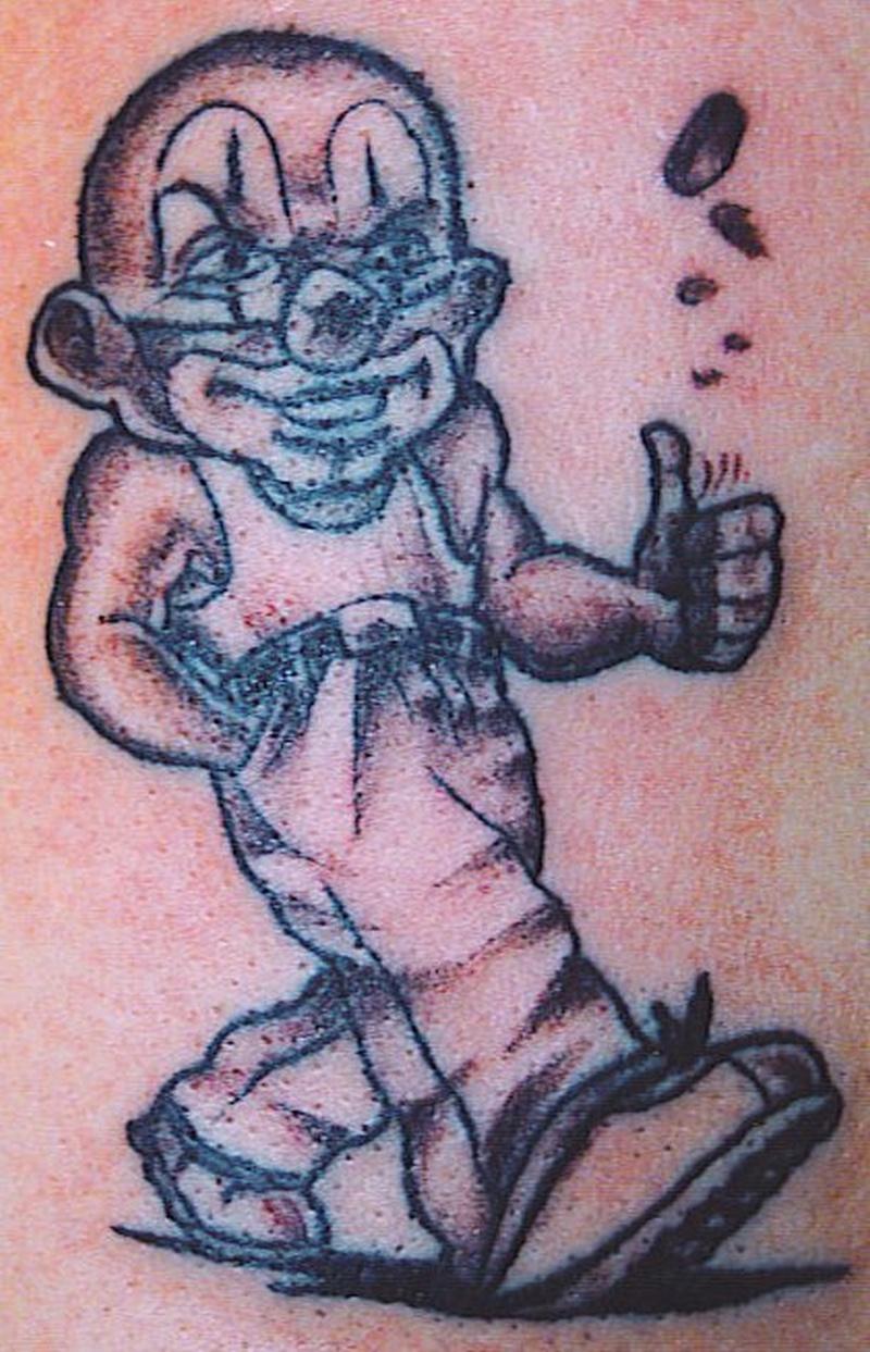 Tattoo clown56