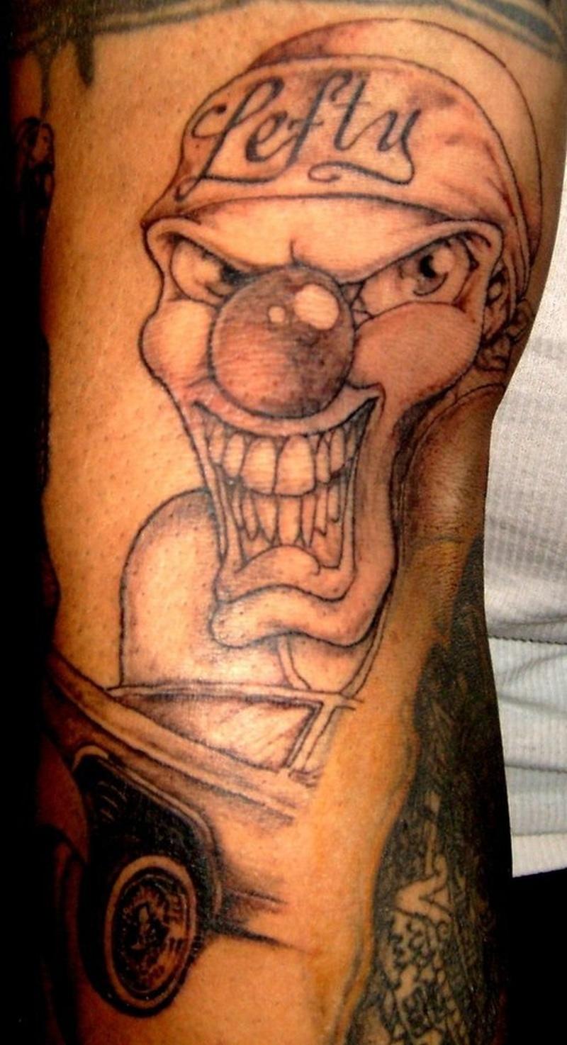 Tattoo clown58