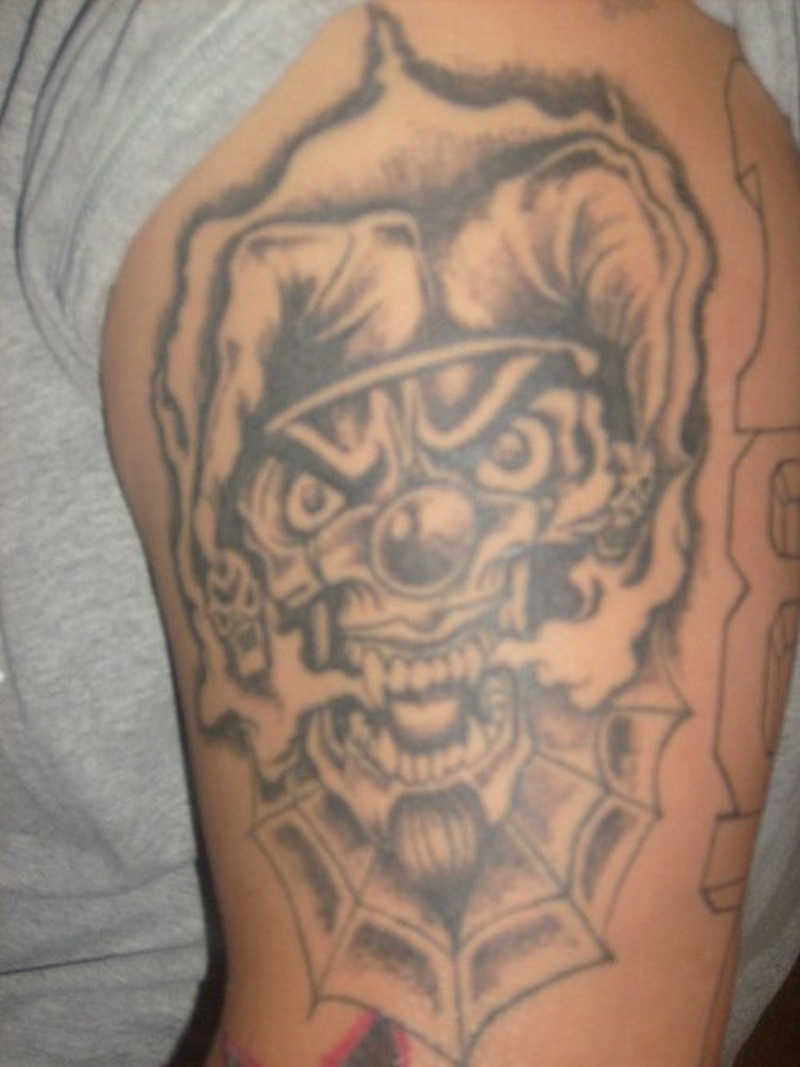 Tattoo clown59