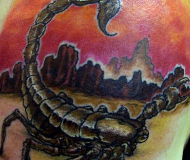 Tattoo desertscorpiontattoo