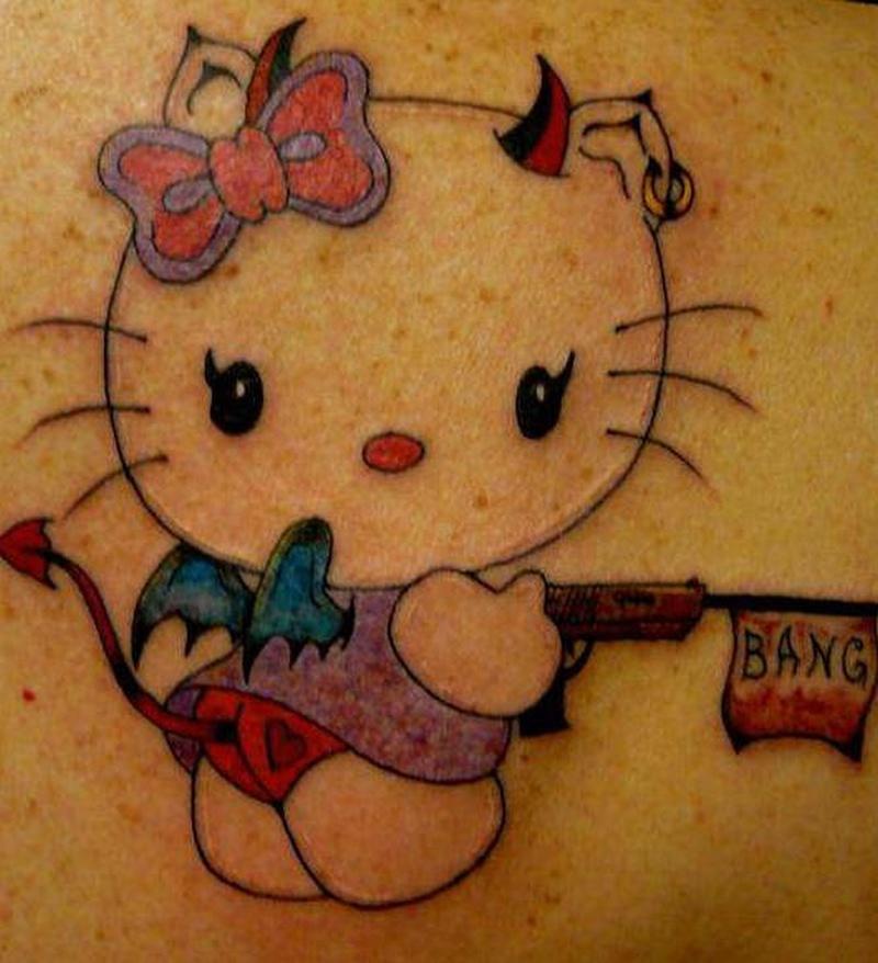 Tattoo funnyhellokittytattoo