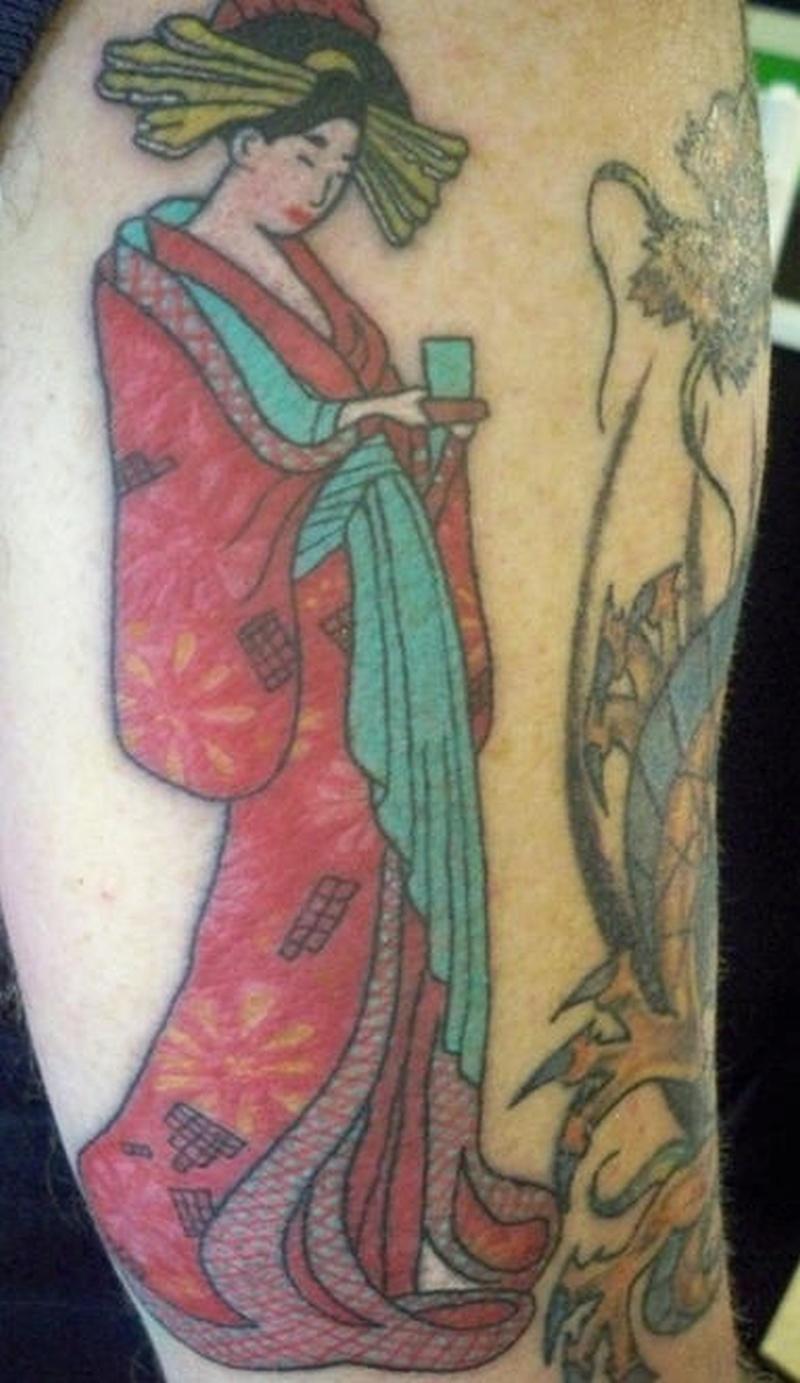 Tattoo geishagirlarmtattoo tattoos book tattoos for Tattoo girl book