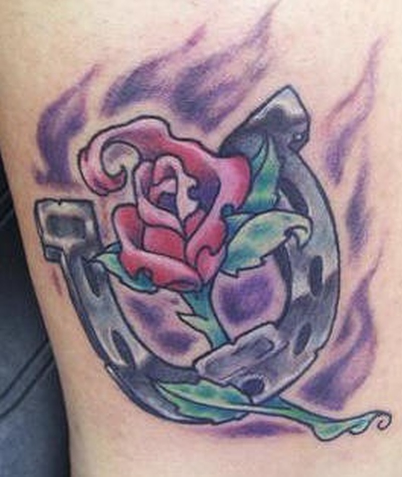 Tattoo horseshoe155