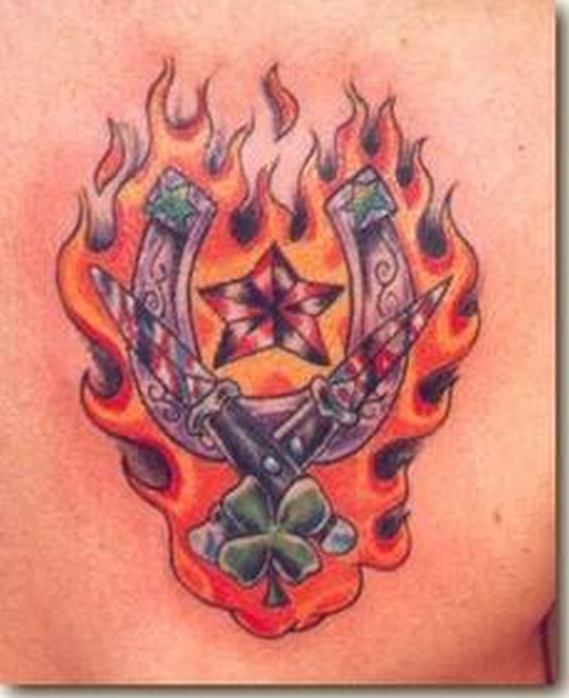 Tattoo horseshoe170