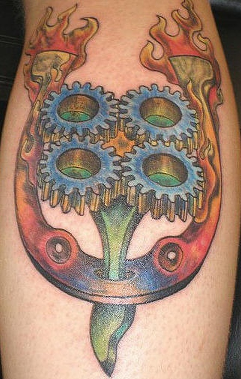 Tattoo horseshoetattoo 1
