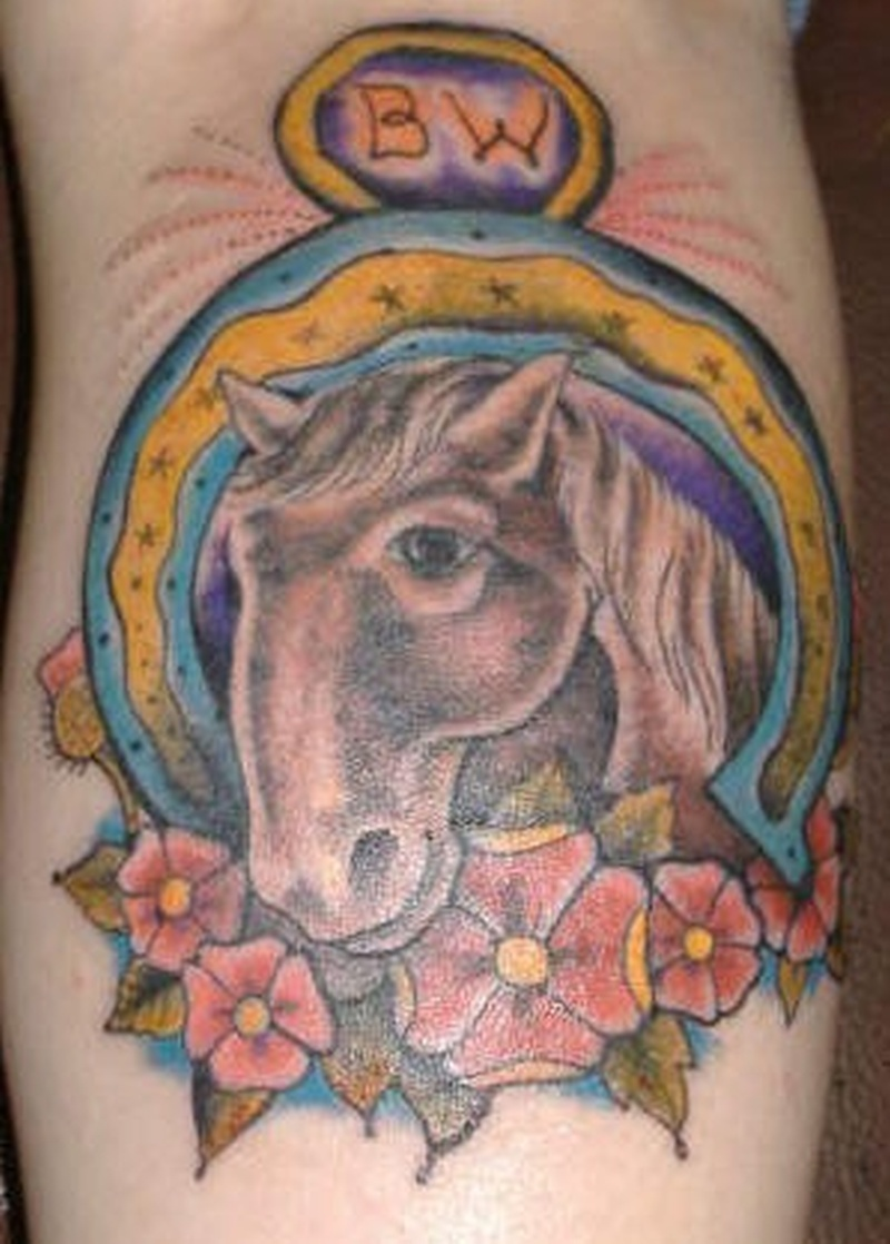 Tattoo littlehorseshoetattoopicture