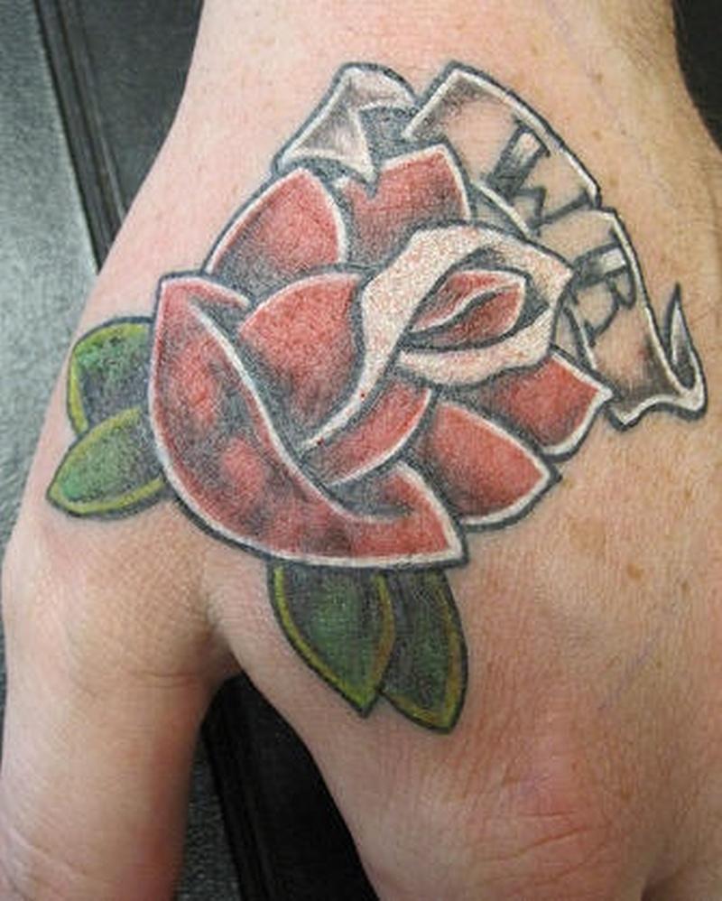 Tattoo memorialrosetattoo