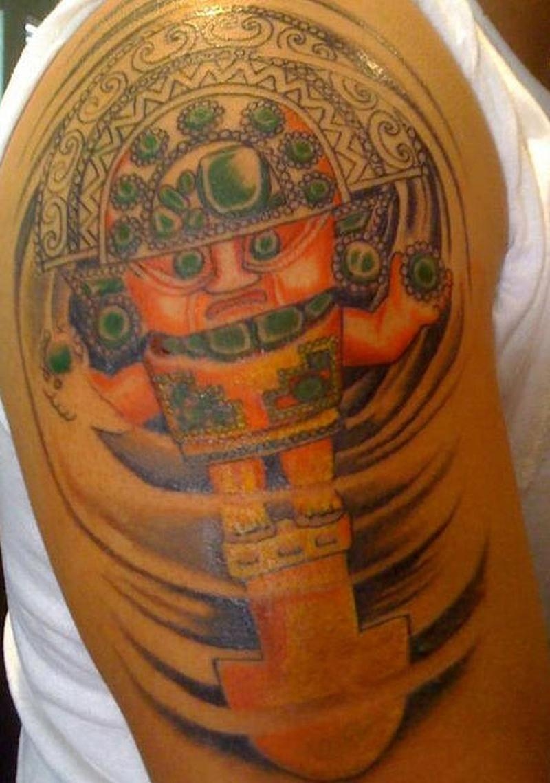 Tattoo mexicanaztectattoo