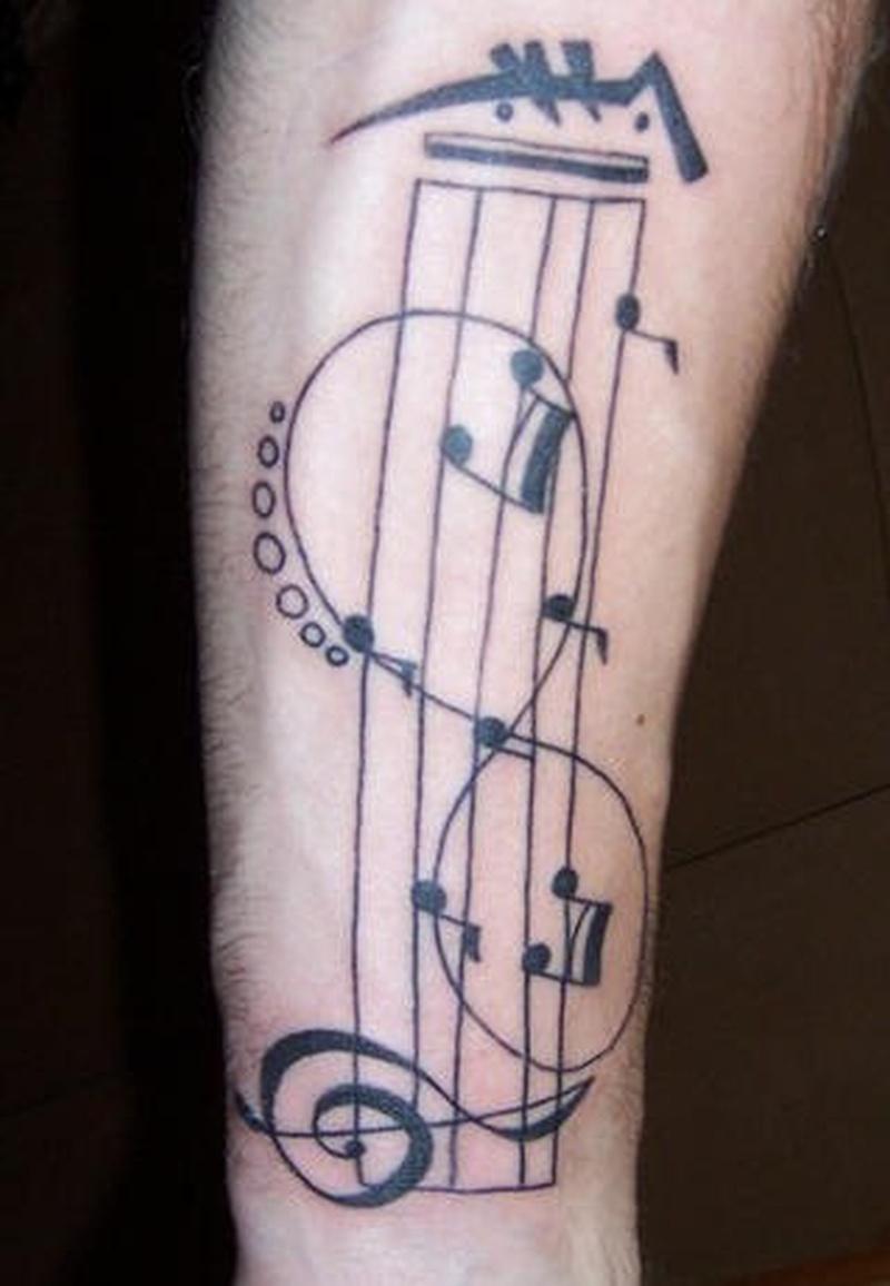 Tattoo musicnoteinfinitysymboltattoo