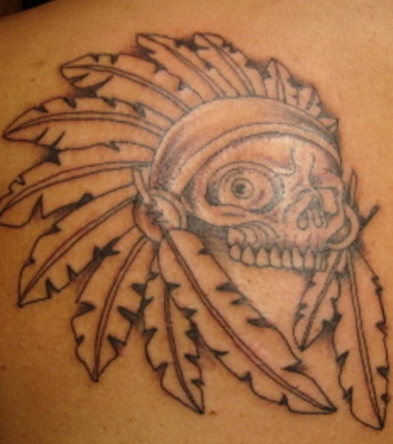 Tattoo nativeamericanskulltattoo