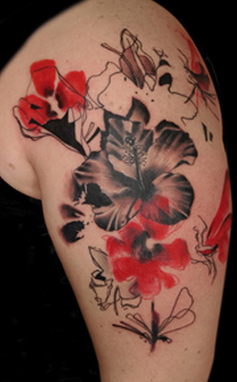 Tattoo of hibiscus flowers tattoos book tattoo of hibiscus flowers izmirmasajfo