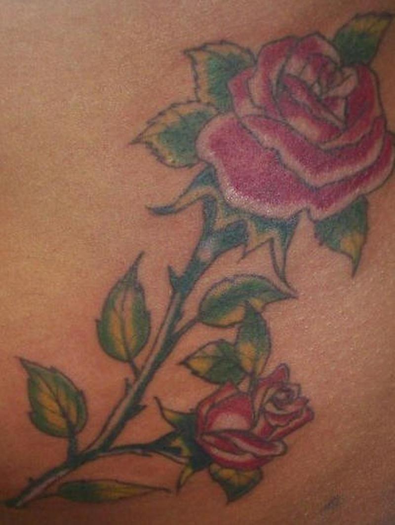 Tattoo realisticrosetattoo 0
