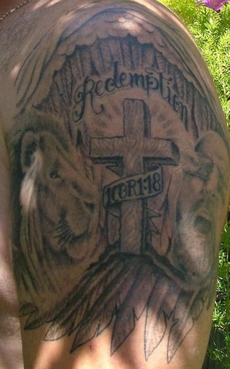 Tattoo religiousredemptiontattoo