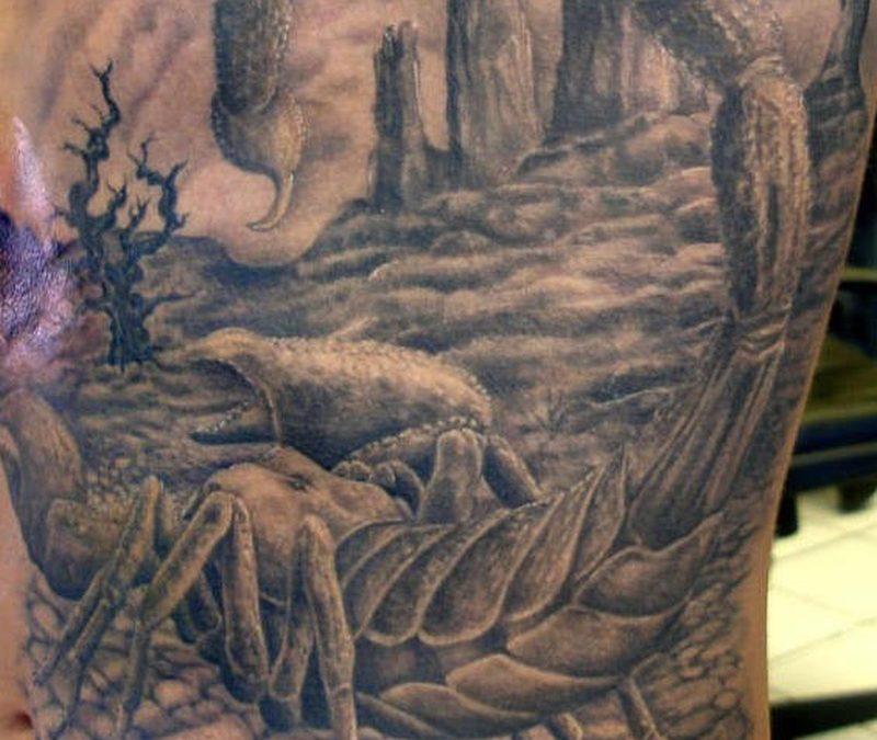 Tattoo scorpiontattoo