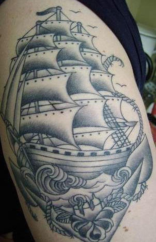 Tattoo shipandanchortattoo