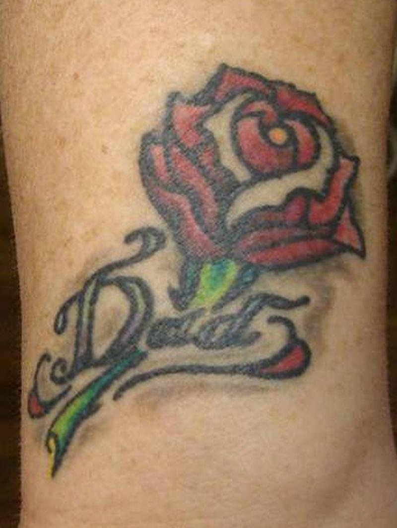 Tattoo smallrosetattoodesign