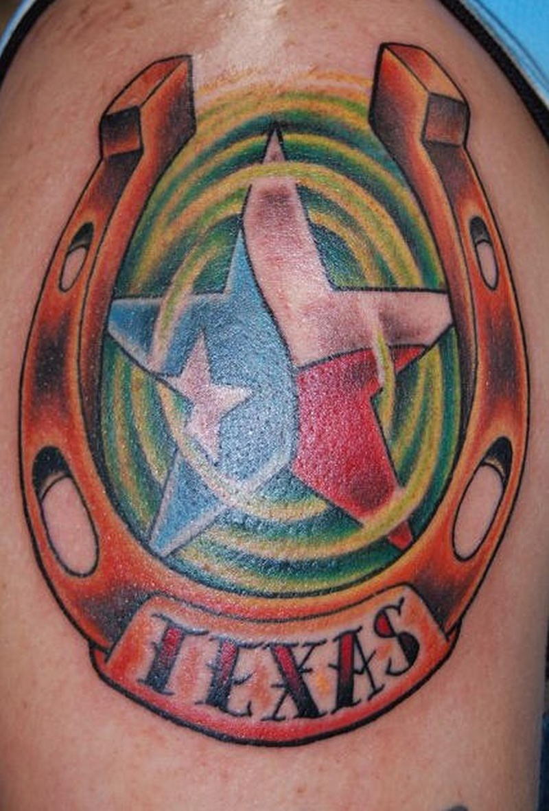 Tattoo texashorseshoetattoo