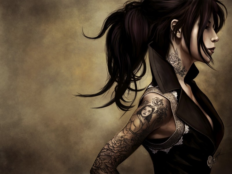 Tattoo wallpaper 11