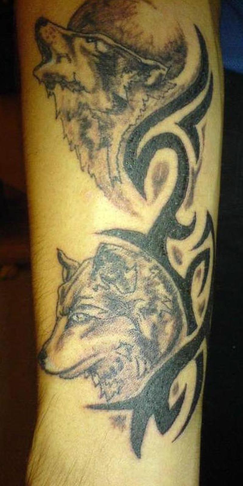 Что обозначает тату пара волков