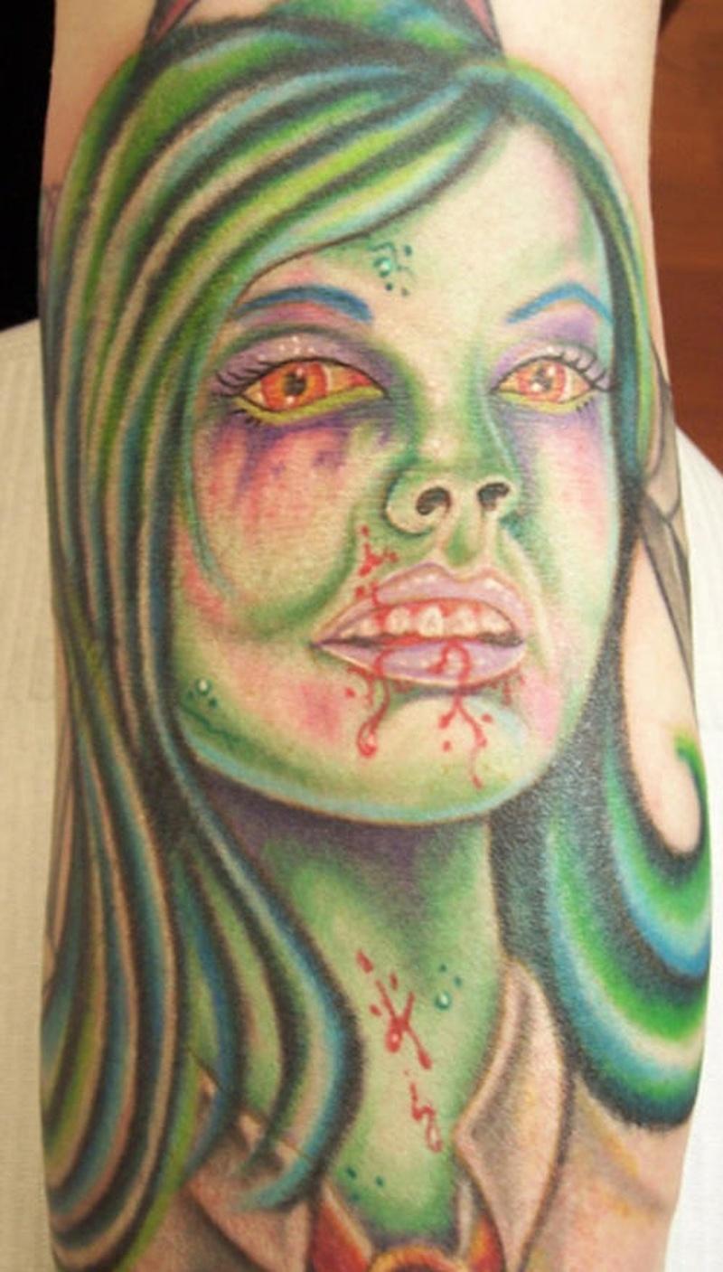 Tattoo zombietattoo124
