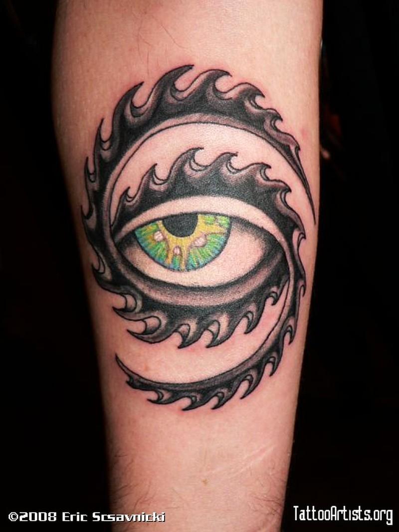 Tool Eye On Forearm Tattoo Tattoos Book 65 000 Tattoos Designs
