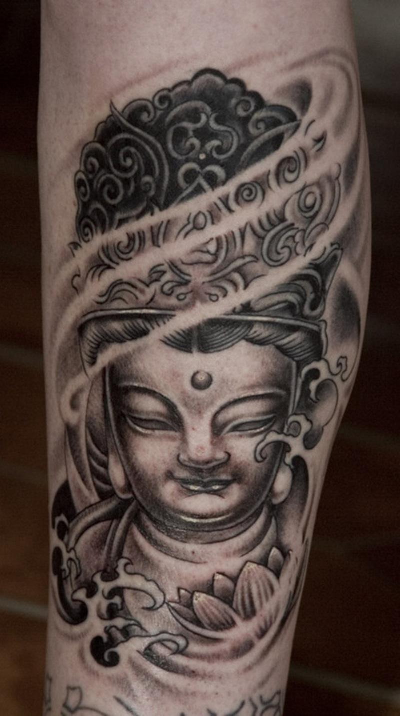 Tremendous buddhist tattoo