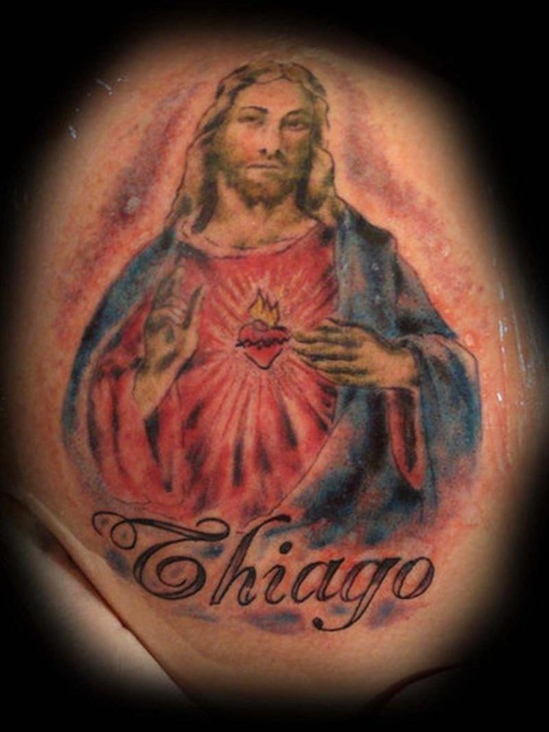 Tremendous jesus tattoo design