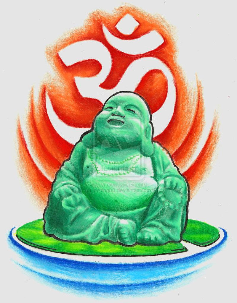 Tremendous religious buddha tattoo
