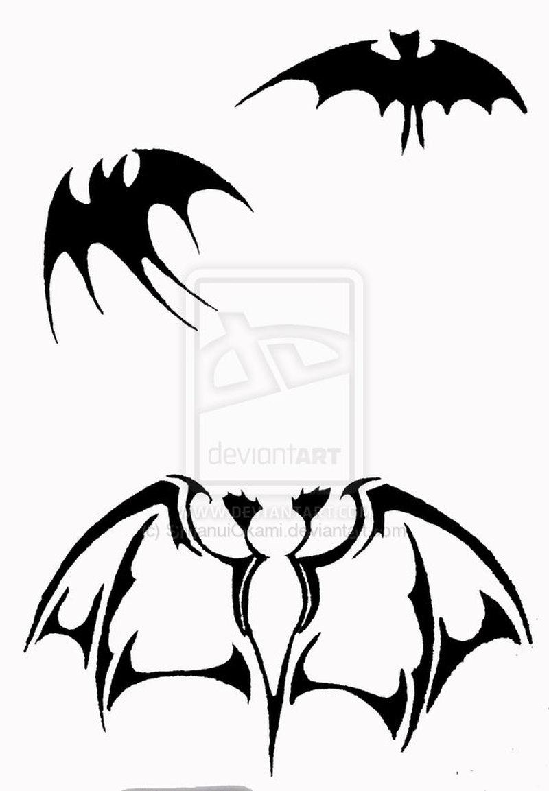 Tremendous tattoo designs of bats