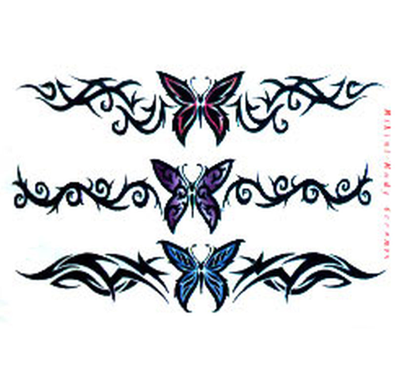 tribal butterfly designs 2 tattoo tattoos book. Black Bedroom Furniture Sets. Home Design Ideas