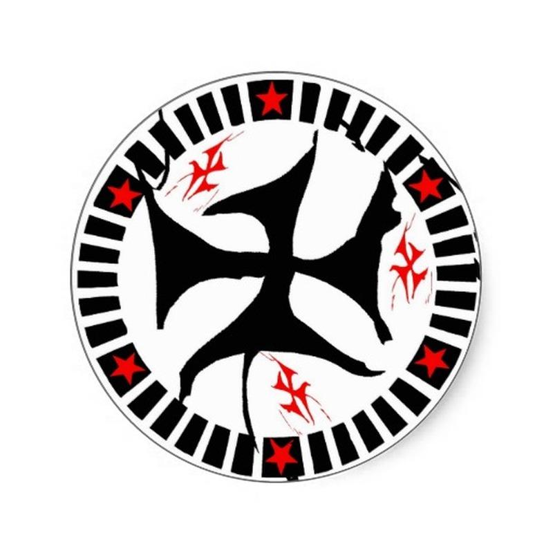 Tribal celtic circle tattoo design 2