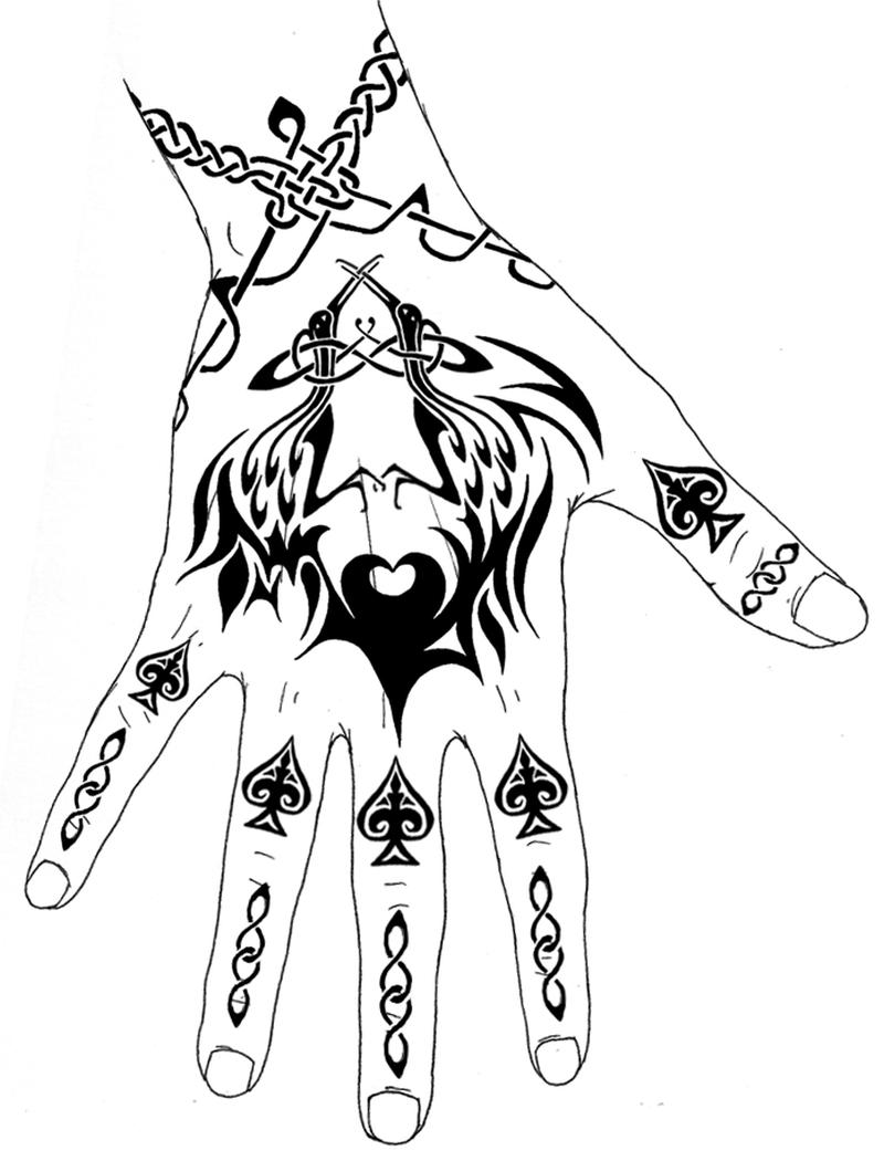 fe996ec2e Tribal hand tattoo design - Tattoos Book - 65.000 Tattoos Designs