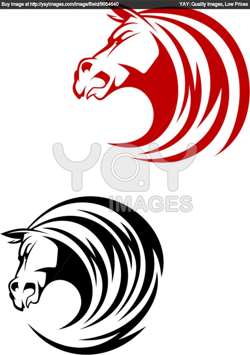 Tribal Horse Head Tattoo Designs 3 Tattoos Book 65 000 Tattoos Designs
