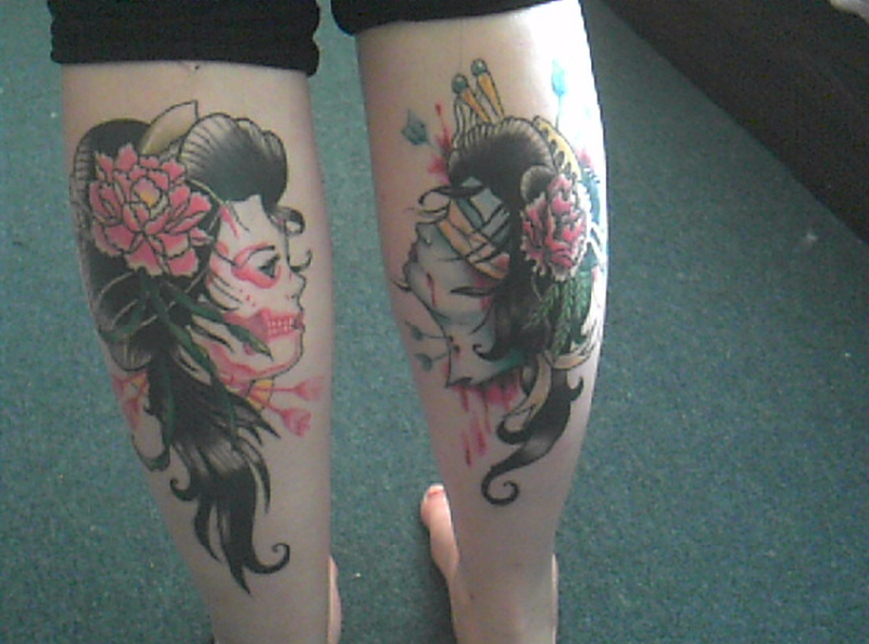 4516dc47e4798 Tumblr geisha tattoo designs on back legs - Tattoos Book - 65.000 ...