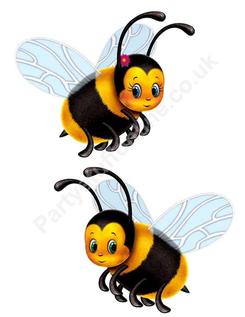 Two bumblebee tattoo design
