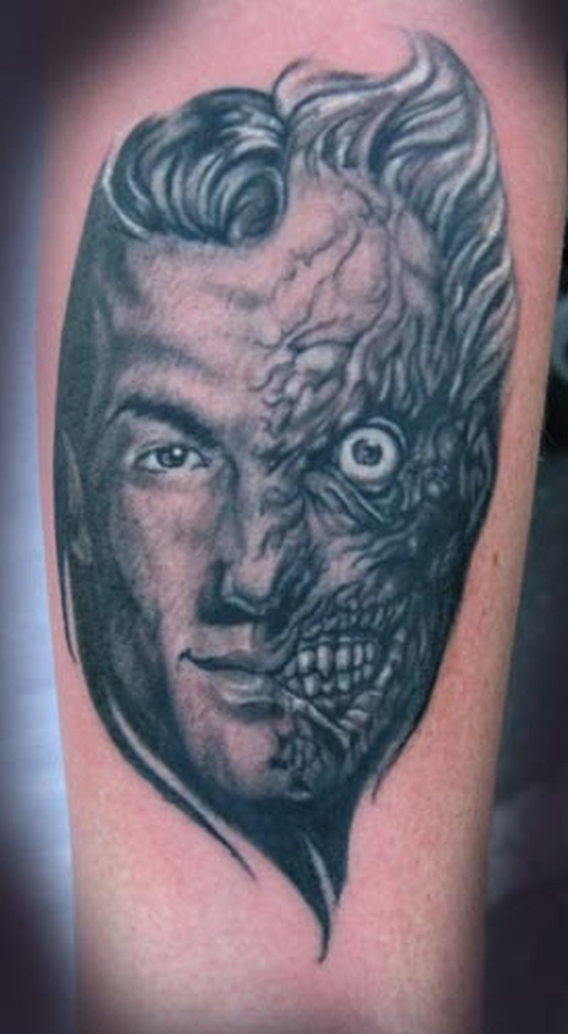 c887e389b Two face tattoo design - Tattoos Book - 65.000 Tattoos Designs