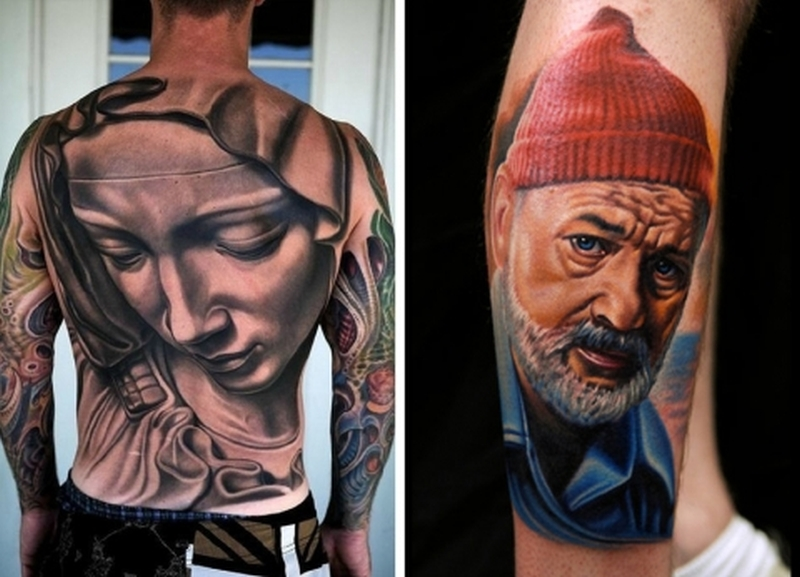 Two face tattoo designs - Tattoos Book - 65.000 Tattoos Designs