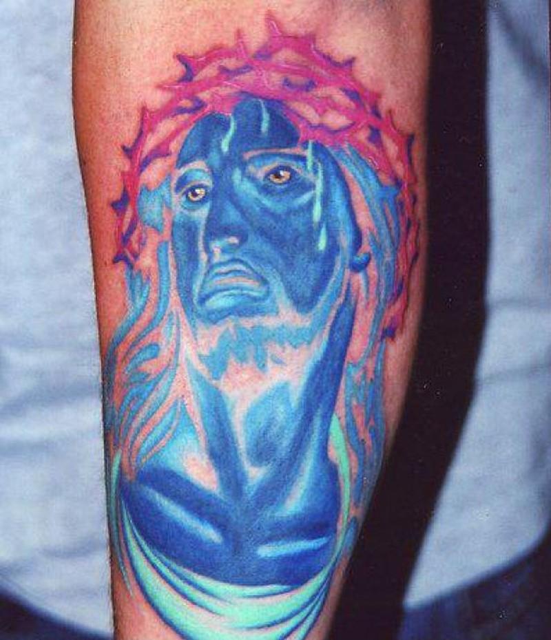 Unique jesus christ tattoo picture
