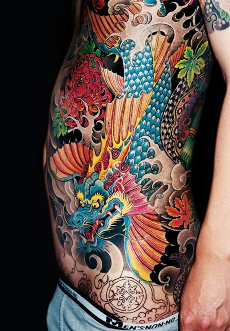 Tattoo cotes galerie tatouage for Dragon tattoo book