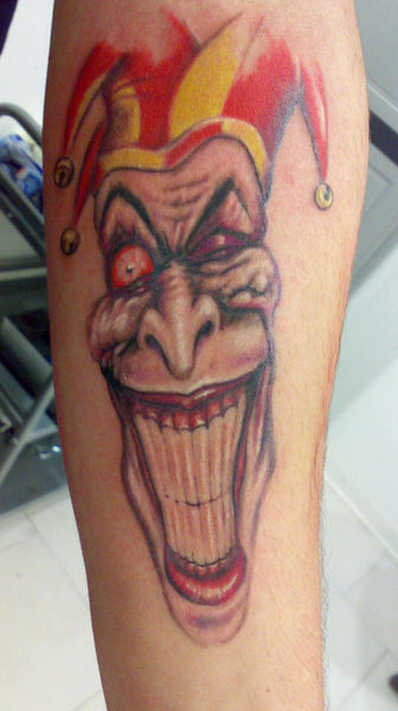 white teeth joker clown tattoo design tattoos book tattoos designs. Black Bedroom Furniture Sets. Home Design Ideas