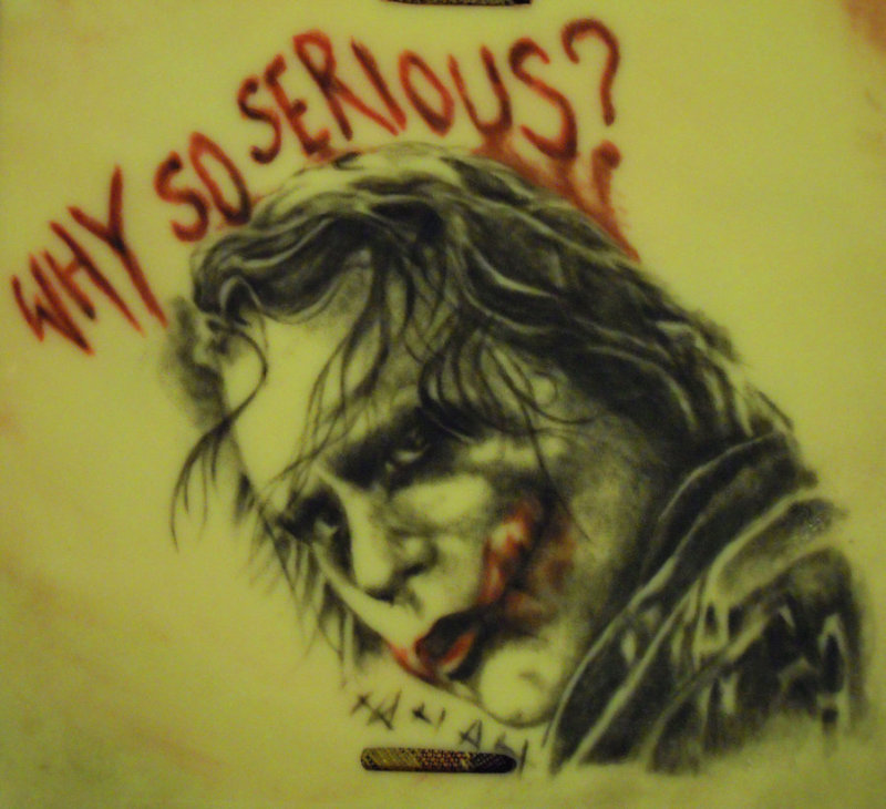 Why so serious joker tattoo
