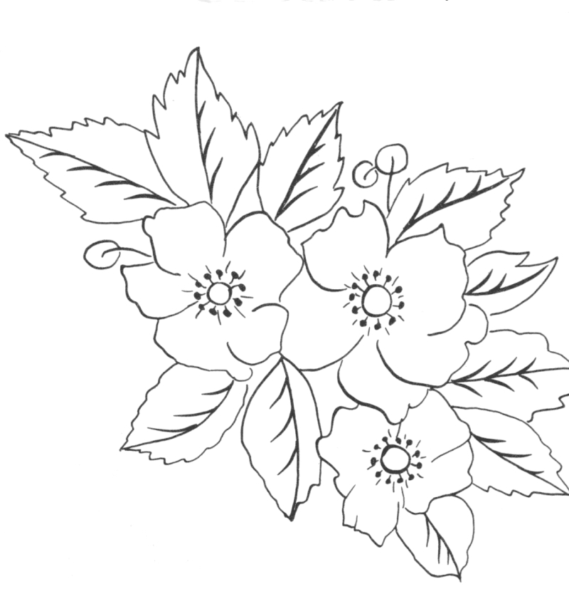 Without color flowers tattoo sample tattoos book 65 for Garden party flower designs to color