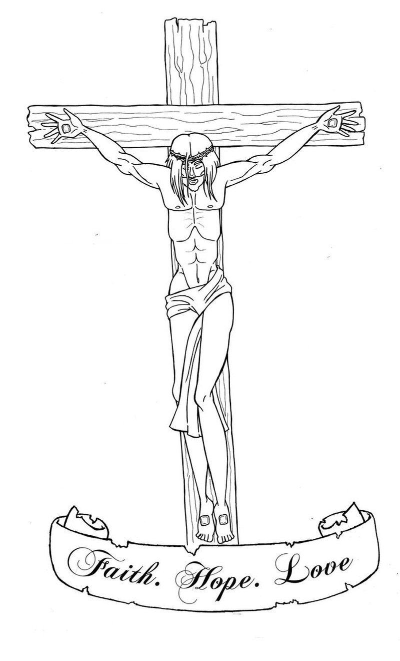 without color jesus cross tattoo design tattoos book tattoos designs. Black Bedroom Furniture Sets. Home Design Ideas