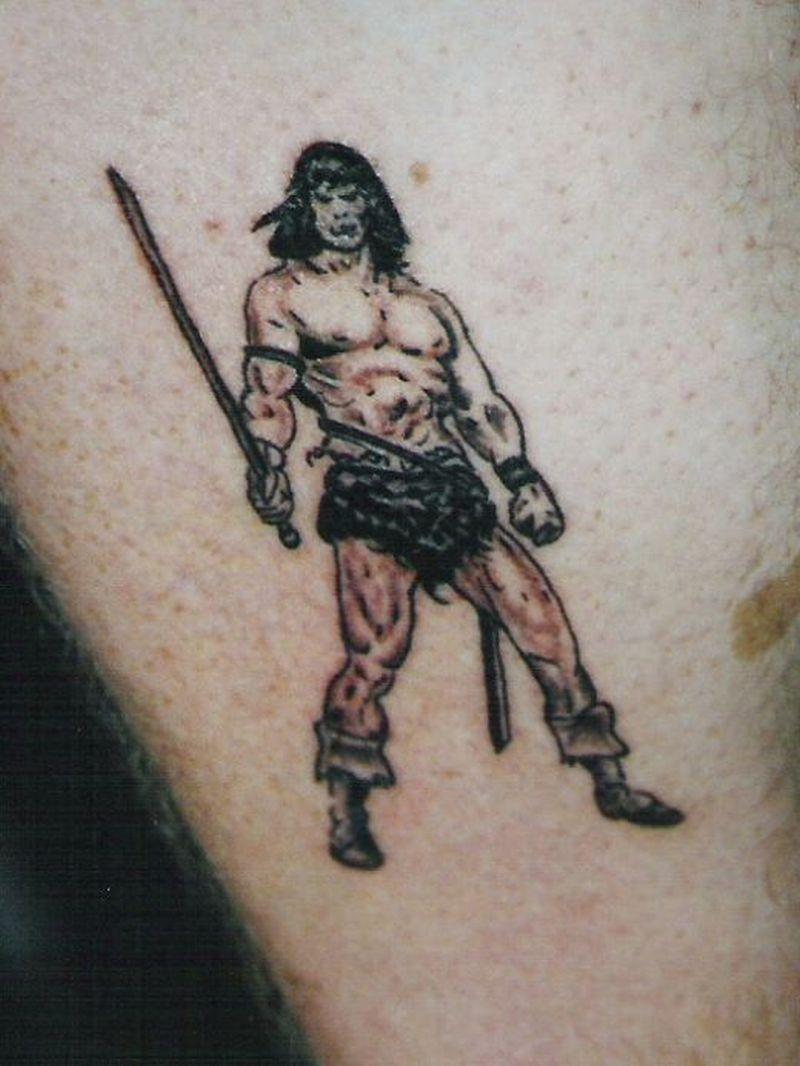 Wizard fantasy tattoo art