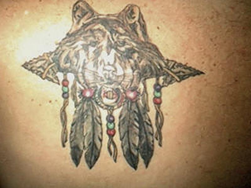 ce042d527 Wolf dream catcher tattoo - Tattoos Book - 65.000 Tattoos Designs