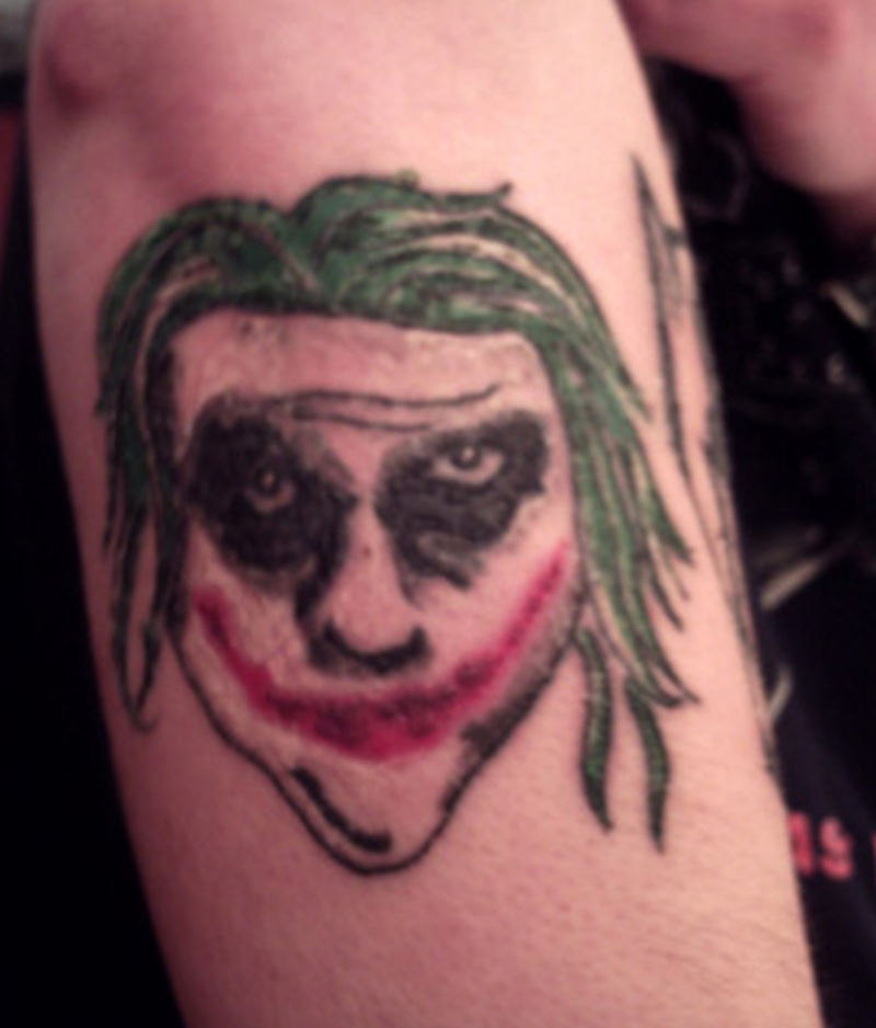 Worst joker tattoo ever
