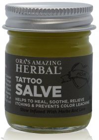 Tattoo Salve, Tattoo Aftercare, Natural Tattoo Aftercare Treatment Salve, No...